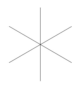 Six adjacent angles
