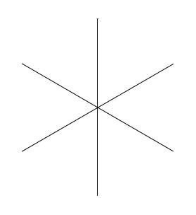 Six adjacent angles